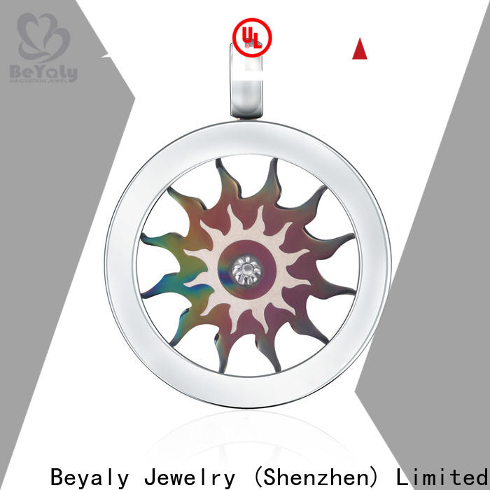 BEYALY Best sterling silver clover pendant for business for wife