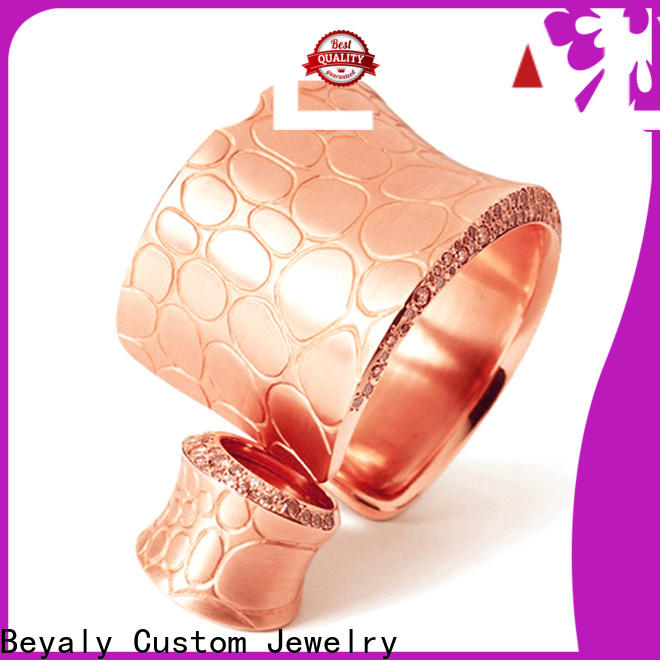 BEYALY big square silver bangle bracelet Supply for ceremony