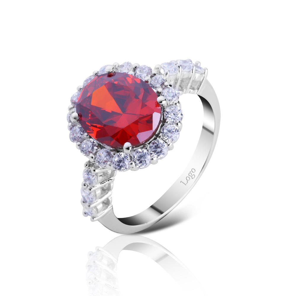 product-BEYALY-Silver jewelry ruby color zircon stone ring designs-img