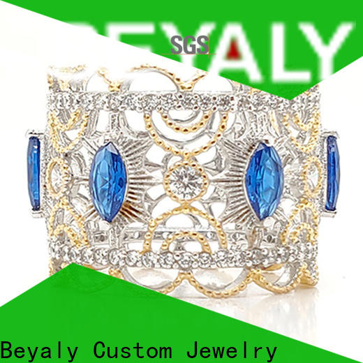 nice quality crown ring white queen for wedding