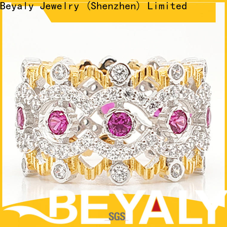BEYALY quality crown ring price manufacturers for women