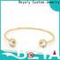 BEYALY popular large silver bangle bracelets Supply for ceremony