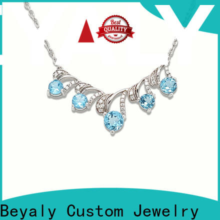 BEYALY unique long gold chain necklace with pendant for girls
