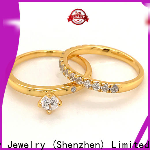 BEYALY stainless sterling silver ring factory for wedding