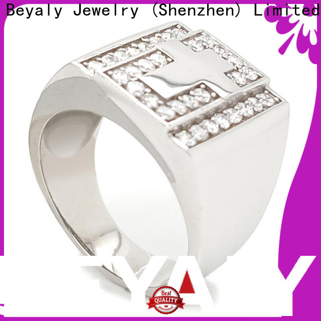 BEYALY sterling popular diamond ring settings Suppliers for wedding