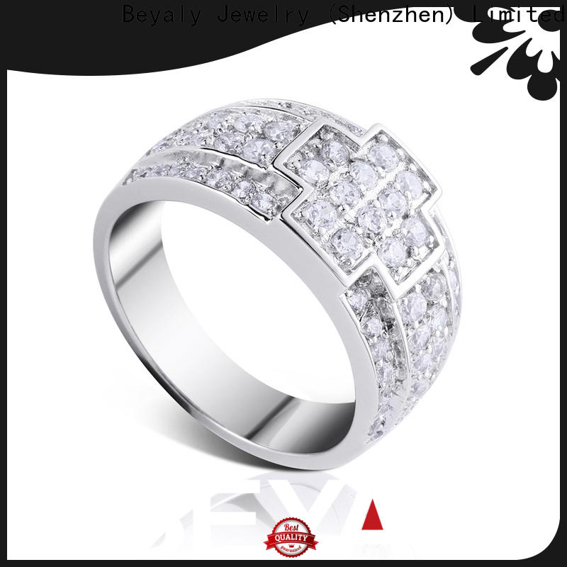 New most popular wedding ring settings stainless for business for women