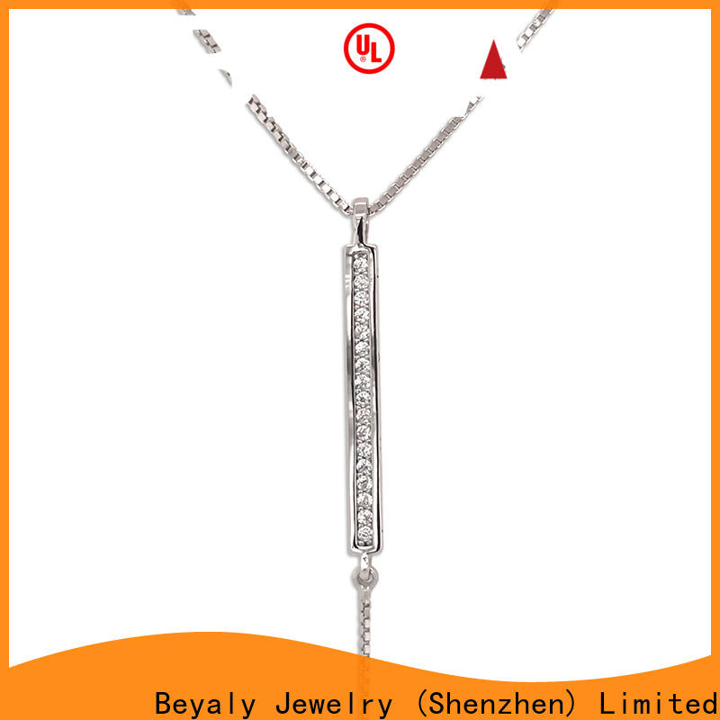 jewel pendant necklace initial company for wife