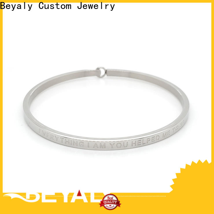 BEYALY Latest gold friendship bangle Suppliers for ceremony