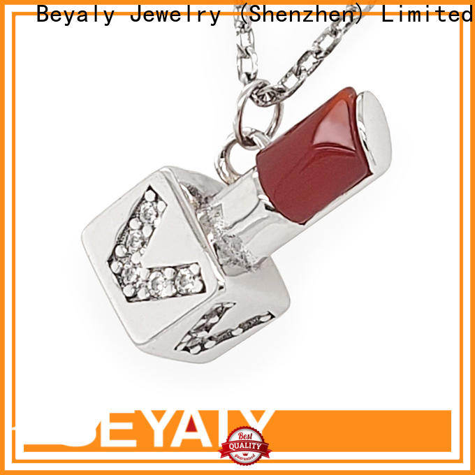 fashion 9ct gold vintage charms necklace manufacturers for wife