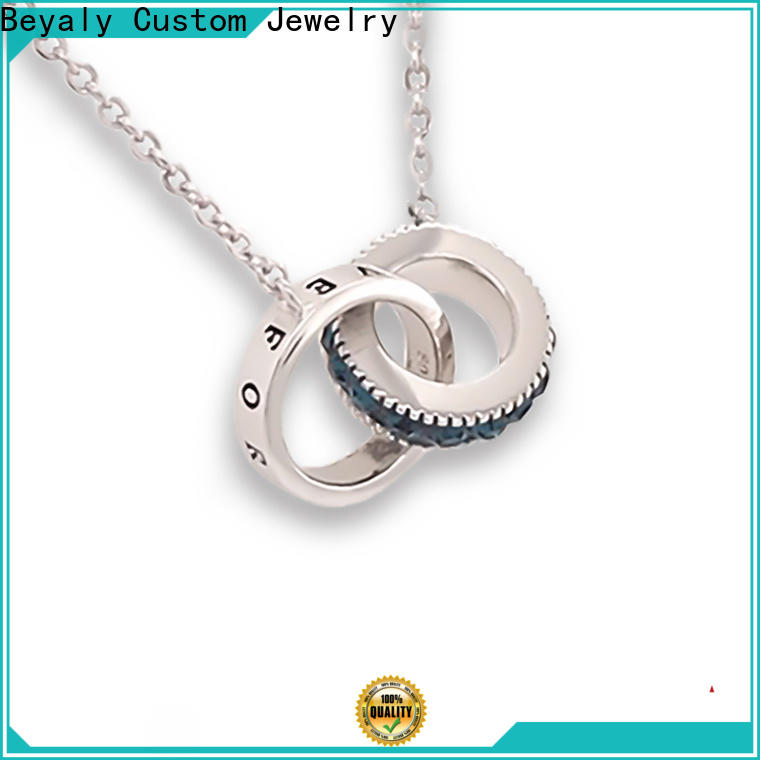 BEYALY shaped buy white gold chain Supply