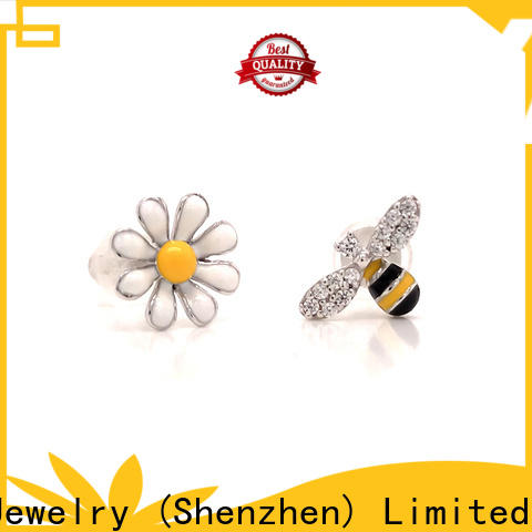BEYALY rhodium cz stud earrings Suppliers for advertising promotion