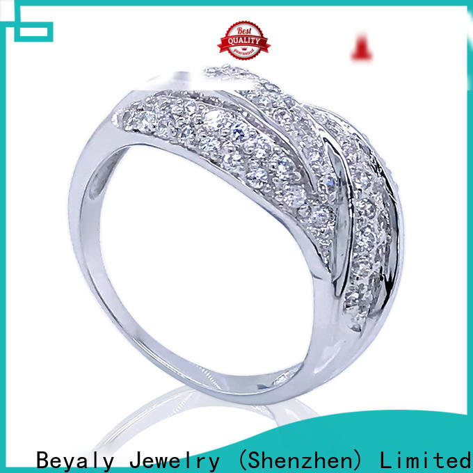 promise most liked engagement rings plating manufacturers for wedding