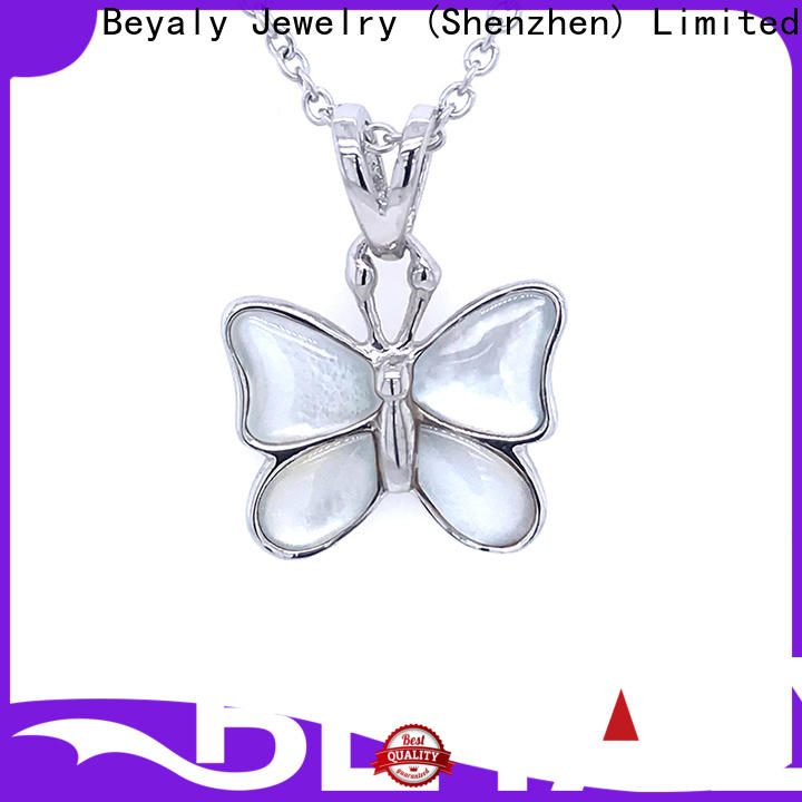 BEYALY fashion silver heart charms for bracelets Supply for ladies