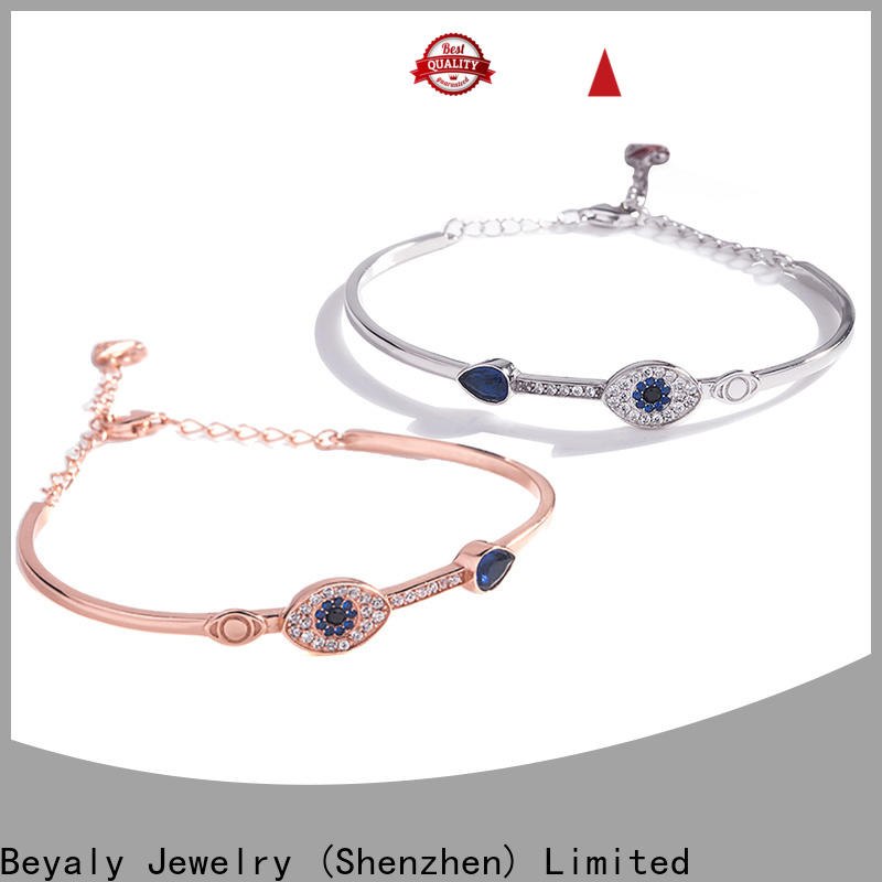 BEYALY heavy silver bracelet manufacturers for women