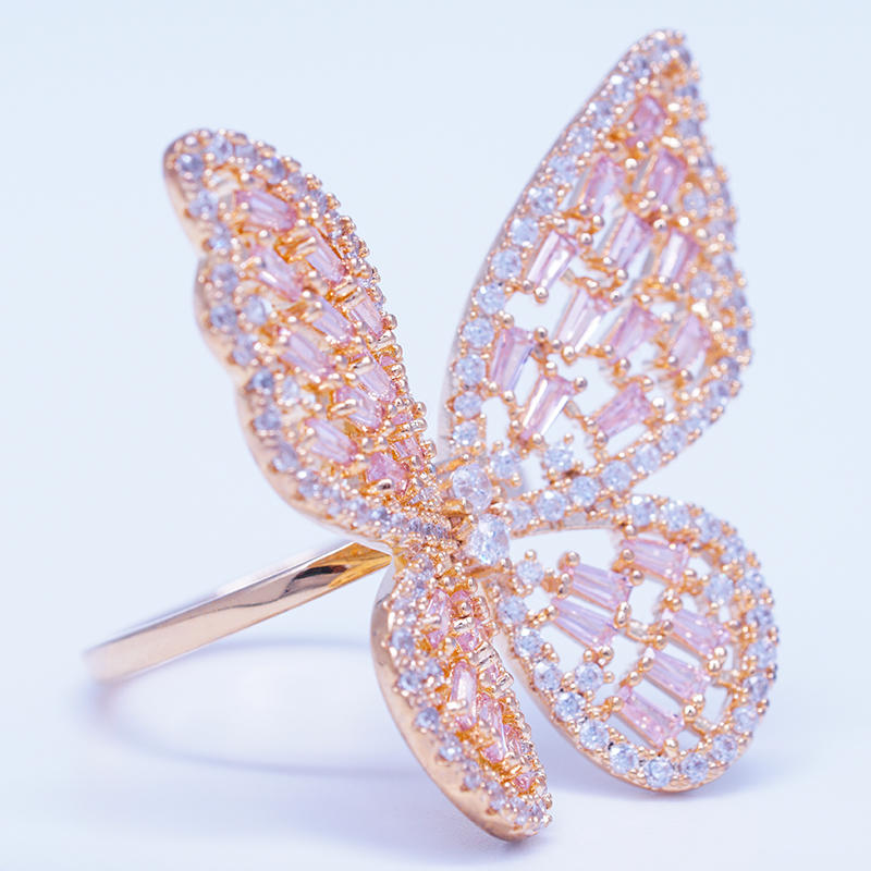 product-BEYALY-wholesale fashion jewelry beautiful gemstone butterfly ring designs for women-img
