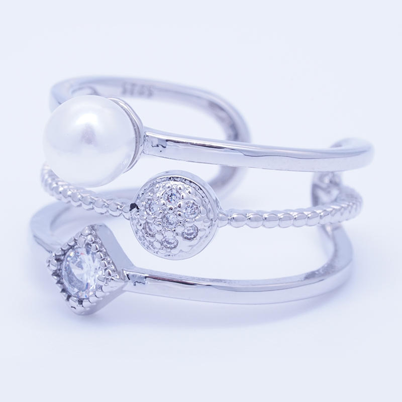 product-BEYALY-Three layer fashion design pearl ring for women-img