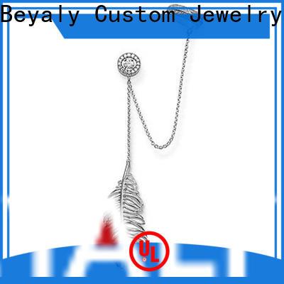 BEYALY New cz hoop earrings bulk buy for engagement