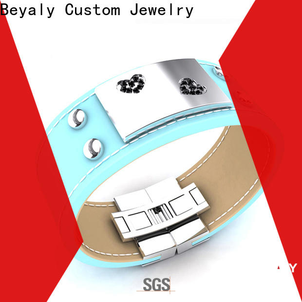 BEYALY High-quality mens titanium cuff bracelet manufacturers for engagement