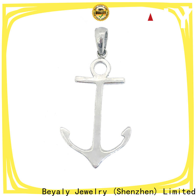 BEYALY stainless steel initial pendant company for party