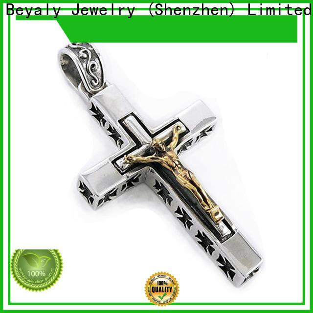 BEYALY New stainless steel ankh pendant bulk buy for men