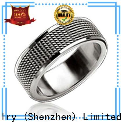 BEYALY 5mm titanium wedding band shipped to business for wedding