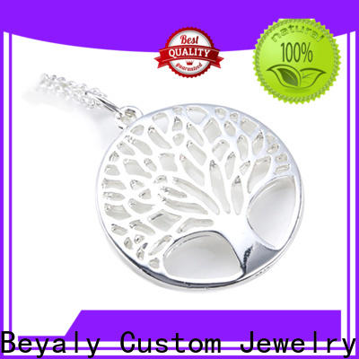 BEYALY custom silver jewelery shipped to business for engagement