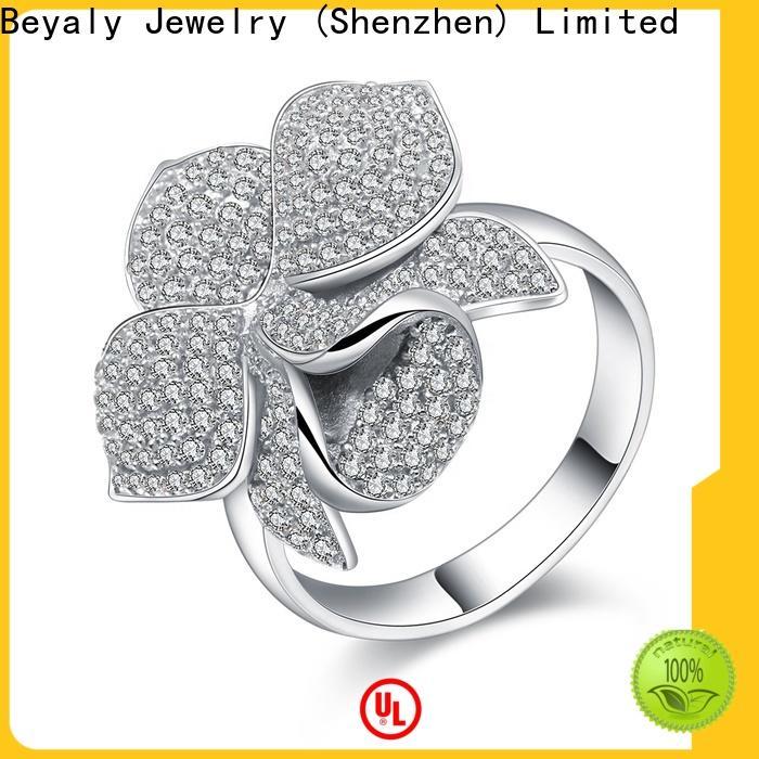 High-quality gold name ring design bulk buy for women