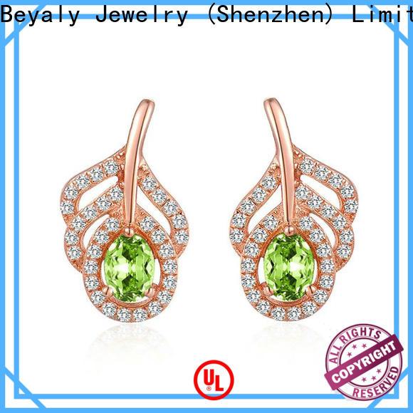 New 925 sterling silver hoop earrings factory for women