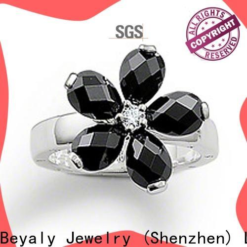 BEYALY New custom meteorite ring company for wedding