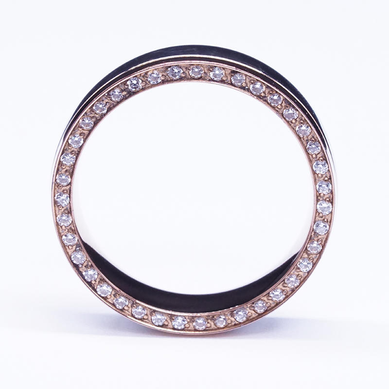 product-BEYALY-New design rose gold plated stainless steel charm mens ring-img