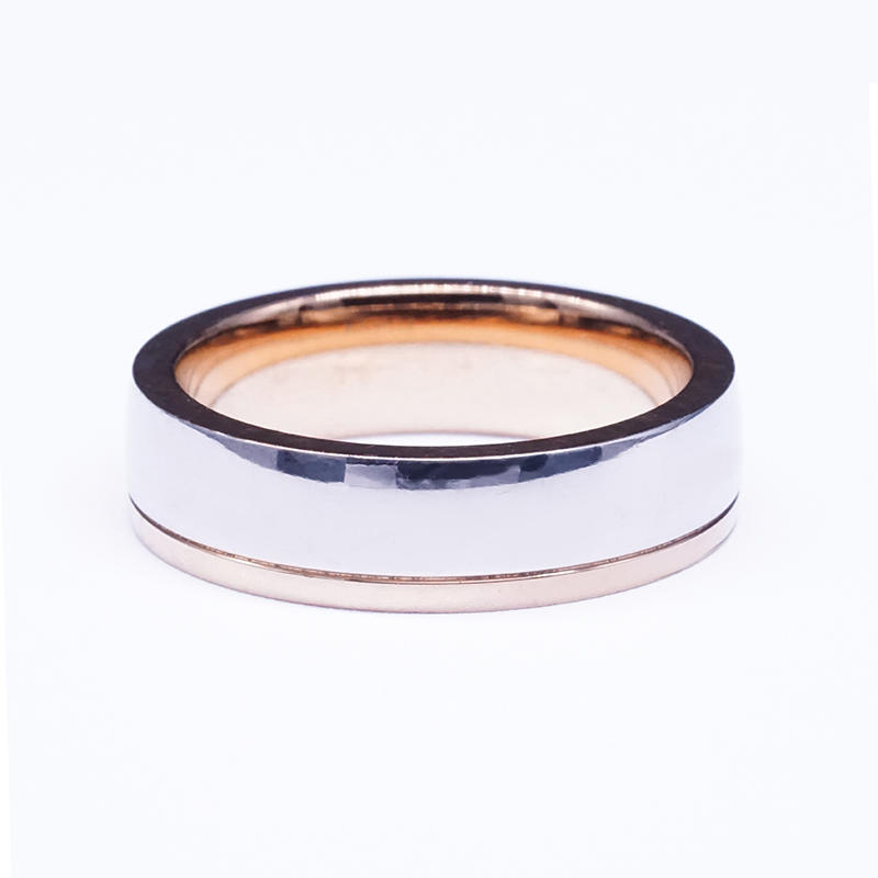 product-New design rose gold plated stainless steel charm mens ring-BEYALY-img-1