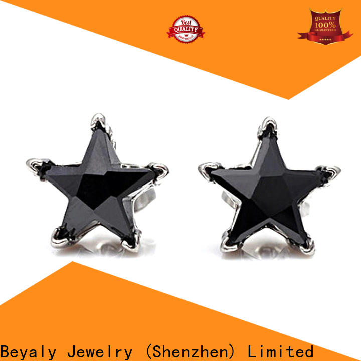 BEYALY 4mm cz stud earrings factory for engagement