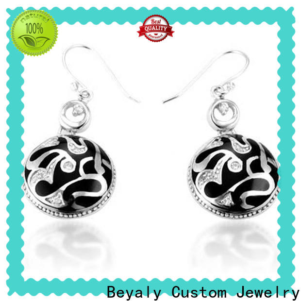 Top sterling silver cubic zirconia stud earrings manufacturers for decorationv