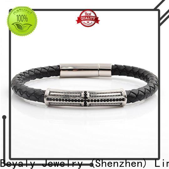 Custom silver cz tennis bracelet factory for wedding