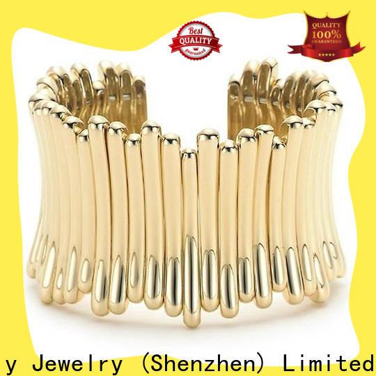 Wholesale silver cubic zirconia bracelet Supply for men
