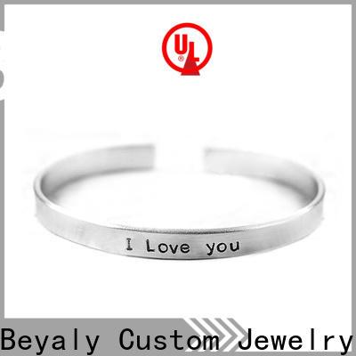 BEYALY titanium bracelet with ion magnetic energy bulk buy for wedding