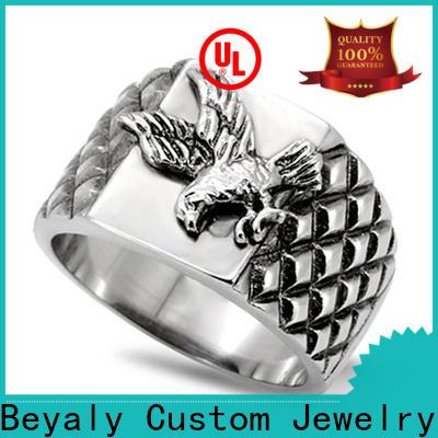 BEYALY male titanium ring bulk buy for business gift