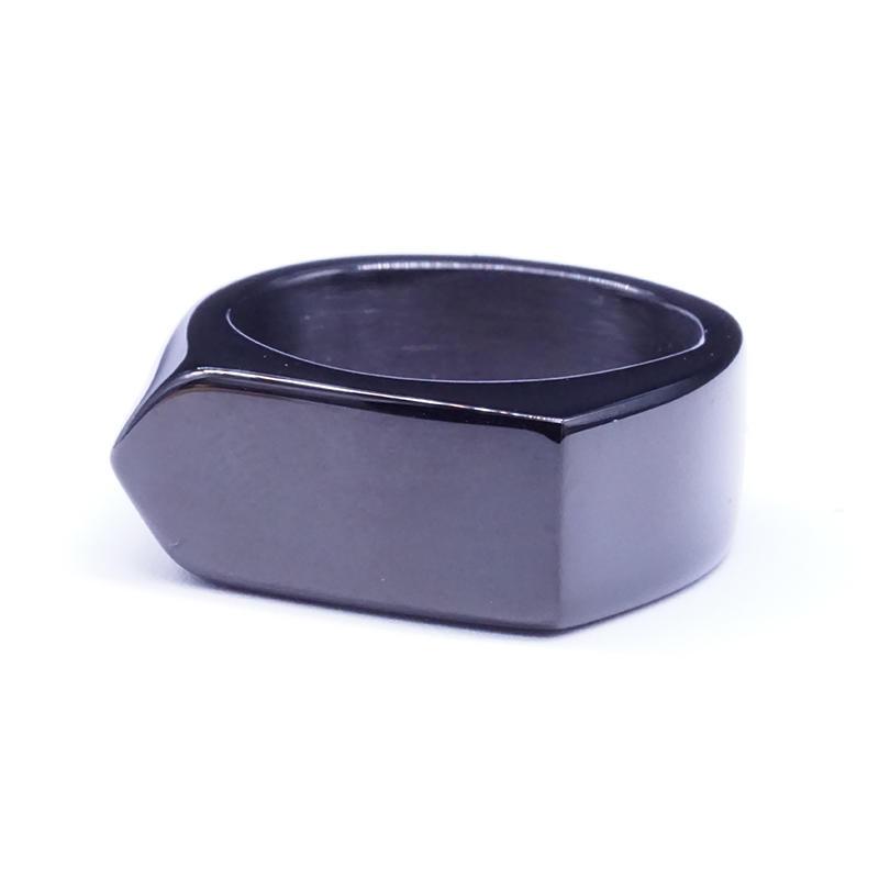 product-Simple Fashion Plain Stainless Steel Band Ring Men Stylish Arrow Ring-BEYALY-img-1