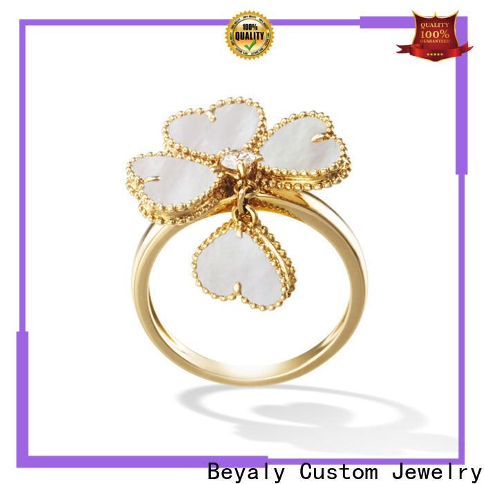 BEYALY Custom mens signet ring custom Suppliers for wedding