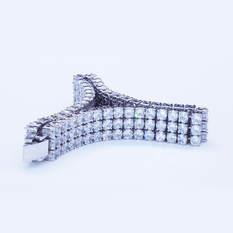 product-BEYALY-Full pave zircon link chain bracelet for women-img