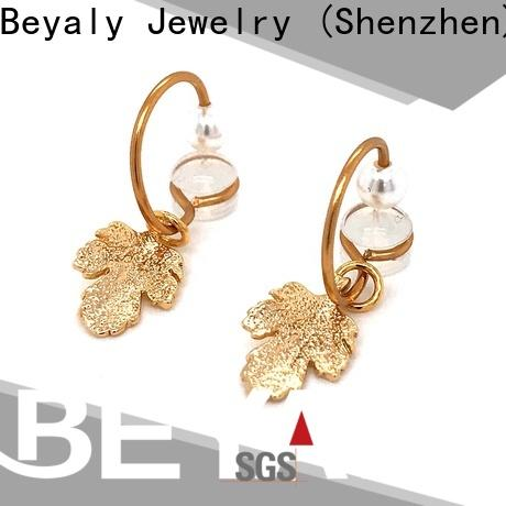 BEYALY Best 8mm silver hoops shipped to business for decoration