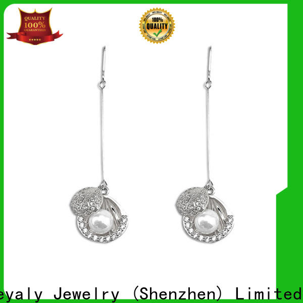 BEYALY cz 925 china earrings manufacturers for men