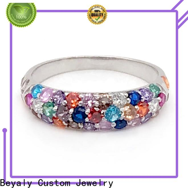High-quality pure silver jewelery bulk buy for engagement