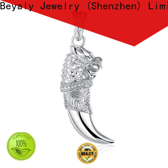 BEYALY New silver jewelery for men Supply for business gift