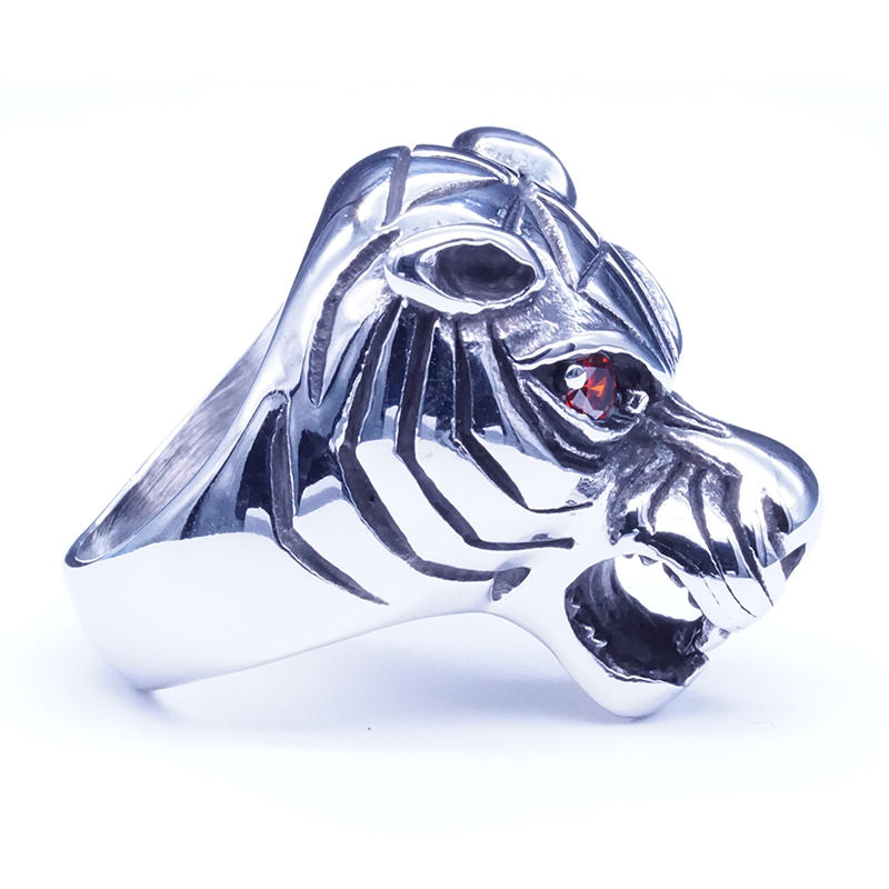 product-BEYALY-Stainless steel animal design tiger ring for men-img