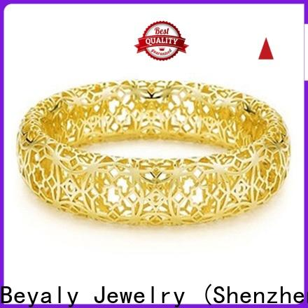 Latest silver cubic zirconia bracelet Supply for party