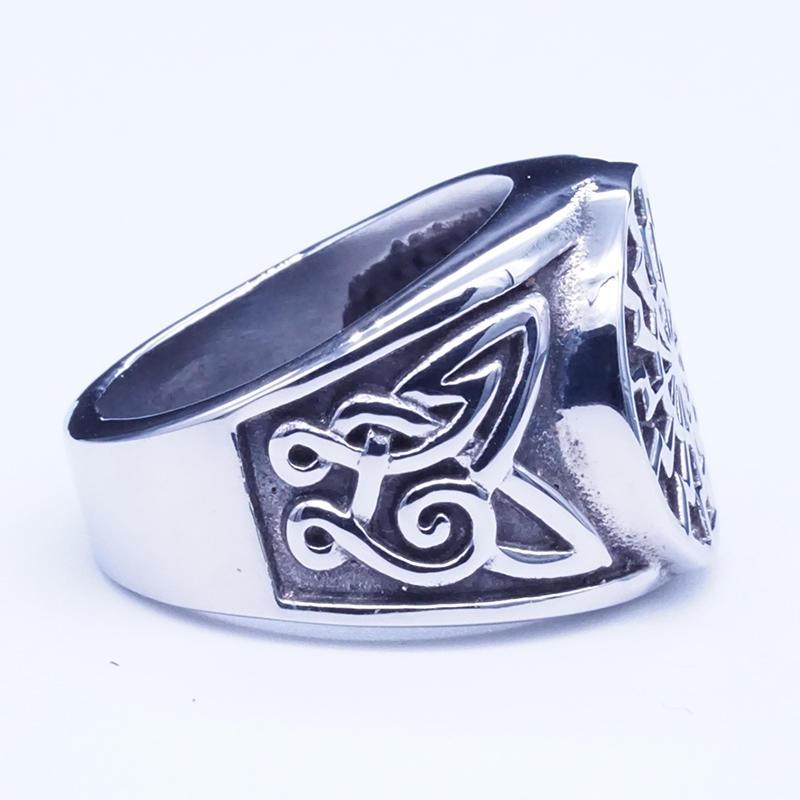 product-BEYALY-Stainless steel Viking totem symbolic ring-img
