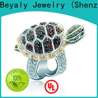 BEYALY hsn cubic zirconia rings shipped to business for men