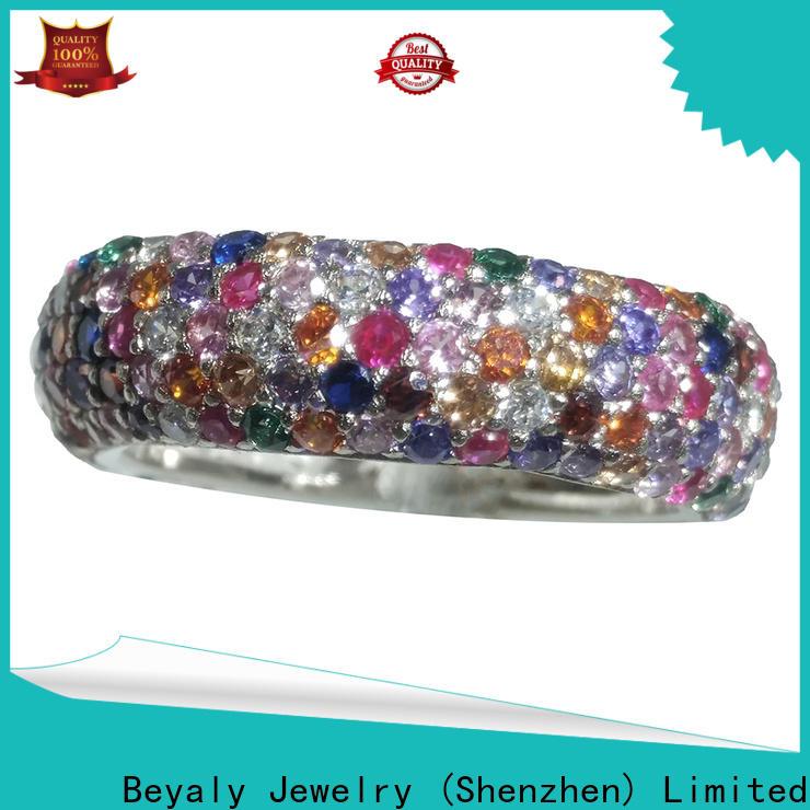 BEYALY Latest pandora shimmering ocean ring manufacturers for women