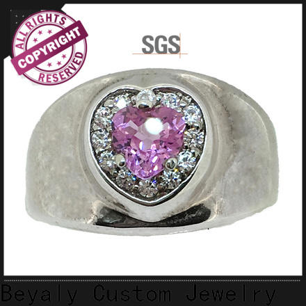 BEYALY silver cubic zirconia jewelry manufacturers for business gift